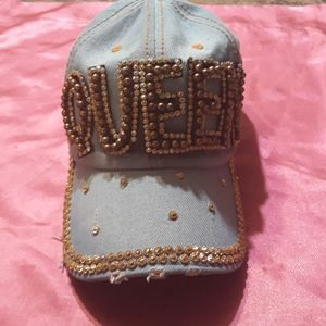 Jean/denim hat